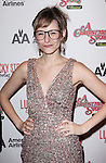 Jill Paice sporting a pair of signature 'Ralphie' specs at the Broadway Opening Night Performance for 'A Christmas Story - The Musical'  at the Lunt Fontanne Theatre in New York City on 11/19/2012.