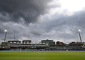 7th September 2017, Lords Cricket Ground, London, England; International Test Match Series, Third Test, Day 1; England versus West Indies; A general view of Lord's, as the sun begins to burn through the clouds