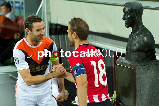 ATHLETIC CLUB-SHAKHTAR DONETS during the campions league<br /> <br /> PHOTOCALL3000