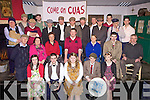 Cast members from Athea Drama Group put the finishing touches to their production of the John B Keane play, 'The Man from Clare' which takes place in the community centre on Feb 24th, 26th and 27th and March 3rd, 5th and 6th.