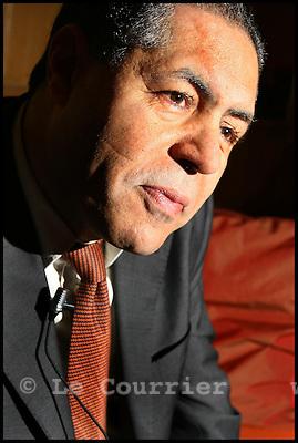 Genève, le 06.12.2006.M.Malek Chebel, penseur et défenseur pour un islam des lumières..© J.-P. Di Silvestro / Le Courrier
