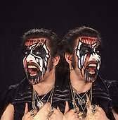 Aug 30, 1989: KING DIAMOND - Photosession in London
