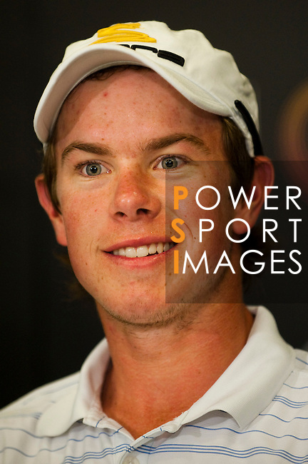 SHENZHEN, CHINA - OCTOBER 30:  Jordan Sherratt of Australia attends a news conference during the day two of Asian Amateur Championship at the Mission Hills Golf Club on October 30, 2009 in Shenzhen, Guangdong, China.  (Photo by Victor Fraile/The Power of Sport Images) *** Local Caption *** Jordan Sherratt