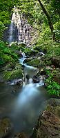 Hamama Falls in Kane'ohe, Windward O'ahu.