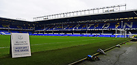 A general view of Goodison Park, home of Everton FC<br /> <br /> Photographer Andrew Vaughan/CameraSport<br /> <br /> Emirates FA Cup Third Round - Everton v Lincoln City - Saturday 5th January 2019 - Goodison Park - Liverpool<br />  <br /> World Copyright &copy; 2019 CameraSport. All rights reserved. 43 Linden Ave. Countesthorpe. Leicester. England. LE8 5PG - Tel: +44 (0) 116 277 4147 - admin@camerasport.com - www.camerasport.com
