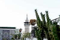 Tunisi, Settembre 2018<br /> Il minareto della Moschea