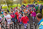 The 100th Junior Park Run in the Tralee town park on Sunday morning