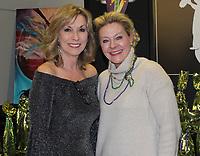 NWA Democrat-Gazette/CARIN SCHOPPMEYER Bridget Shultz (left) and Sarah Diebold attend the Chase Family Foundation benefit.