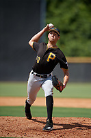 Pittsburgh Pirates pitcher Jacob Webb (70) delivers a pitch during a Florida Instructional League game against the New York Yankees on September 25, 2018 at Yankee Complex in Tampa, Florida.  (Mike Janes/Four Seam Images)