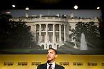 Senator Barack Obama (D-IL) speaks at the International Association of Fire Fighters Legislative Conference in Washington, DC, on Wednesday, Mar. 14, 2007.