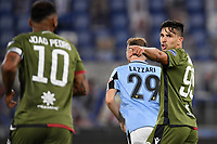 Joao Pedro (L) and Giovanni Simeone of Cagliari during the Serie A football match between SS Lazio and Cagliari Calcio at Olimpico stadium in Rome ( Italy ), July 23th, 2020. Play resumes behind closed doors following the outbreak of the coronavirus disease. Photo Andrea Staccioli / Insidefoto