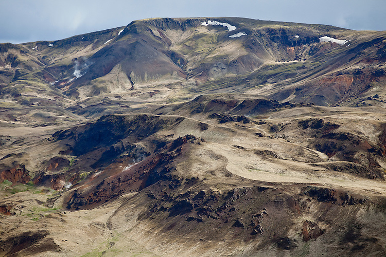 Rhyolite mountains of central Iceland