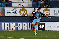 Sam Wood of Wycombe Wanderers during the Sky Bet League 2 match between Luton Town and Wycombe Wanderers at Kenilworth Road, Luton, England on 26 December 2015. Photo by David Horn.