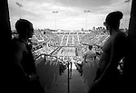 CARSON, CA - JULY 13:  General view of fans watching competition during the 2012 Crossfit Games on July 13, 2012 at the Home Depot Center in Carson, California. (Photo by Donald Miralle) *** Local Caption *** .