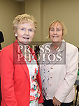 Vonnie McGovern and Margaret Burke at the official opening of the new Associated Bridge Clubs of Drogheda (ABCD) headquaters on the Fair Green. Photo:Colin Bell/pressphotos.ie