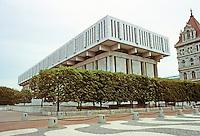 Albany: Legislative Office Building, Empire State Plaza. Photo '88.