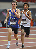 Anthony Ferrara of Hauppauge competes in the boys 1,600 meter sprint medley relay during the New Balance Indoor Nationals at The Armory in New York, NY on Saturday, March 10, 2018.