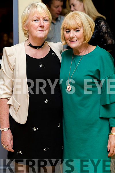 Kathleen Horgan and Marie Morris at the John Mitchels GAA 'Strictly Come Dancing' at Ballygarry House Hotel on Sunday night.