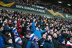 20.02.2020 Rangers v SC Braga: Rangers fans doing the bouncy