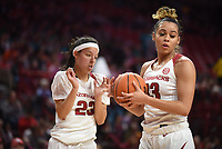 The University of Arkansas Women's basketball team opened their 2019-2020 season against the University of New Orleans Friday, November 8, 2019, in Bud Walton Arena on the campus of the University in Fayetteville. The game was attended by area elementary school students. Elementary School Day.<br /> <br /> NWA Democrat-Gazette/DAVID GOTTSCHALK<br /> <br /> AN BKW-NO-ARK