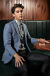 Sunday mail , Fashion with Mirella Mens Fashion at Malt and Juniper Peel street Adelaide , model Oscar.Photo: Nick Clayton
