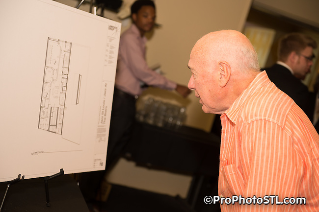 Jazz St. Louis press event about remodeling the venue at The Bistro in St. Louis, MO on May 13, 2014.