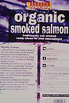 Iceland Organic farmed salmon product from Scotland