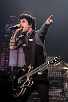 Green Day performing at Rod Laver Arena, Melbourne, 14 December 2009