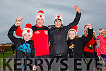 Enjoying the Santa 5km run in memory of Fiona Moore in aid of Heart Children Ireland at the Tralee Wetlands were Cormac Clifford, Benny Clifford, Geraldine Clifford and Grainne Clifford.