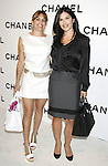 Lauren Sanchez (R) and guest arrive at Chanel's Launch of Highly Anticipated New Concept Boutique on Robertson Boulevard on May 29, 2008 in Los Angeles, California.