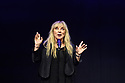 Edinburgh, UK. 01.08.2018. Underbelly Press Launch at the Edinburgh Festival Fringe. Underbelly presents a showcase of a number of productions and acts to launch their Fringe 2018, in the upturned purple cow, George Square, Edinburgh. Picture shows: Helen Lederer. Photograph © Jane Hobson.