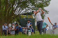 Alex Noren (SWE) watches his tee shot on 3 during day 5 of the World Golf Championships, Dell Match Play, Austin Country Club, Austin, Texas. 3/25/2018.<br /> Picture: Golffile | Ken Murray<br /> <br /> <br /> All photo usage must carry mandatory copyright credit (© Golffile | Ken Murray)