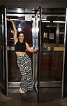 """Gerianne Perez photo shoot for her Broadway Debut in """"In Transit"""" on January 25, 2017 at Circle in the Square Theatre in New York City."""