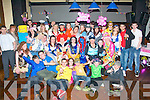 Michaela O'Brien,The spa (seated 5th from Rt) had a fab fancy dress party for her 18th birthday in the Abbeygate hotel,Tralee last Saturday night with many friends and family.