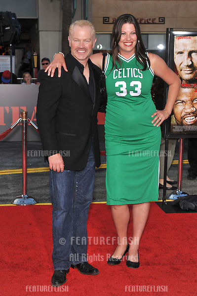 "Neal McDonough & wife Ruve McDonough at the Los Angeles premiere of ""The A-Team"" at Grauman's Chinese Theatre, Hollywood..June 3, 2010  Los Angeles, CA.Picture: Paul Smith / Featureflash"