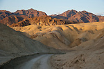 Dirt road through 20 Mule Team Canyon, Funeral Range