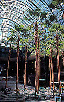 N.Y. City: Winter Garden--Battery Park City. Cesar Pelli, 1985.  Photo '91.