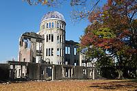 Japan, Chūgoku (Southwest Honshu), Hiroshima Prefecture, Hiroshima: Atomic Bomb Dome | Japan, Chūgoku (Suedwest Honshu), Praefektur Hiroshima, Hiroshima: Friedensdenkmal in Hiroshima - Atombombenkuppel