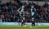 Luke O'Nien of Wycombe Wanderers & Max Kretzschmar of Wycombe Wanderers prepare to kick off the 2nd half during the Sky Bet League 2 match between Wycombe Wanderers and Crawley Town at Adams Park, High Wycombe, England on 28 December 2015. Photo by Andy Rowland / PRiME Media Images