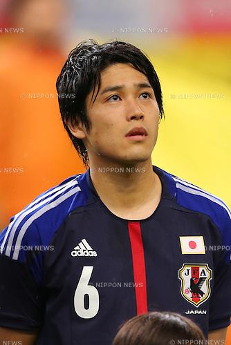 Atsuto Uchida (JPN), <br /> May 30, 2013 - Football / Soccer : <br /> KIRIN Challenge Cup 2013 <br /> match between Japan 0-2 Bulgaria <br /> at TOYOTA Stadium, Aichi, Japan. <br /> (Photo by Daiju Kitamura/AFLO SPORT)