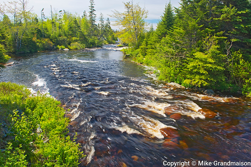 Gaspereaux River, Near Liscomb Mills, Nova Scotia, Canada
