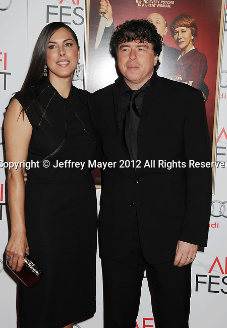 HOLLYWOOD, CA - NOVEMBER 01: Sacha Gervasi arrives at the opening night gala premiere of 'Hitchcock' during the 2012 AFI FEST at Grauman's Chinese Theatre on November 1, 2012 in Hollywood, California.