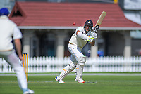 Wellington's Rachin Ravindra bats during day two of the Plunket Shield cricket match between the Wellington Firebirds and Otago Volts at the Basin Reserve in Wellington, New Zealand on Tuesday, 22 October 2019. Photo: Dave Lintott / lintottphoto.co.nz