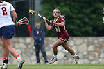 CHAPEL HILL, NC - MAY 12: Elon's Nicole Sinacori. The Elon University Phoenix played the University of Virginia Cavaliers on May 12, 2017, at Fetzer Field in Chapel Hill, NC in an NCAA Women's Lacrosse Tournament First Round match. Virginia won the game 11-9.