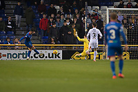23rd November 2019; Caledonian Stadium, Inverness, Scotland; Scottish Championship Football, Inverness Caledonian Thistle versus Dundee Football Club; Aaron Doran of Inverness Caledonian Thistle scores for 1-0 in the 18th minute - Editorial Use