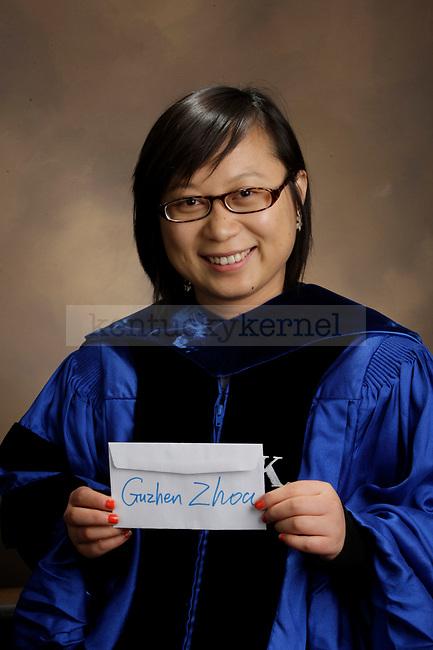 Zhoa, Guzhen photographed during the Feb/Mar, 2013, Grad Salute in Lexington, Ky.