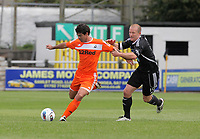 Pictured L-R: Radames of Swansea against Adie Harris of Neath. Saturday 17 July 2011<br />