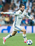 Isco Alarcon of Real Madrid in action during their 2016-17 UEFA Champions League Semifinals 1st leg match between Real Madrid and Atletico de Madrid at the Estadio Santiago Bernabeu on 02 May 2017 in Madrid, Spain. Photo by Diego Gonzalez Souto / Power Sport Images