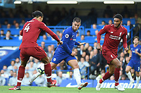 Eden Hazard of Chelsea celebrates <br /> 29-09-2018 Premier League <br /> Chelsea - Liverpool<br /> Foto PHC Images / Panoramic / Insidefoto <br /> ITALY ONLY
