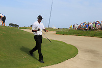 Tiger Woods (USA) walks off the 7th green during Saturday's Round 3 of the 94th PGA Golf Championship at The Ocean Course, Kiawah Island, South Carolina, USA 10th August 2012 (Photo Eoin Clarke/www.golffile.ie)
